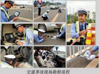 交通事故的现场勘察流程...