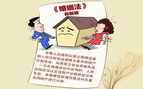 协议离婚后分割财产