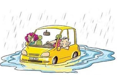 天气变冷的卡通图片