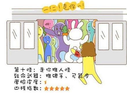 地铁儿童简笔画
