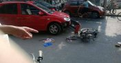 骑自行车横穿马路出车祸,责任怎么认定?