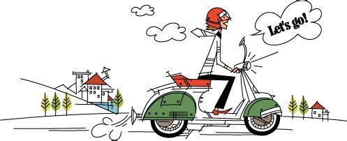 摩托车如何在道路上行驶?