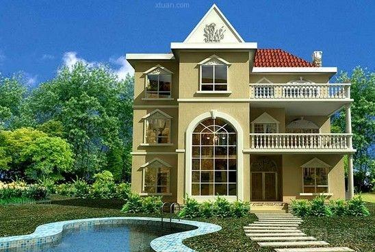 房子设计图片大全二层半图片