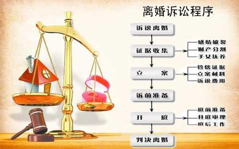 诉讼离婚程序