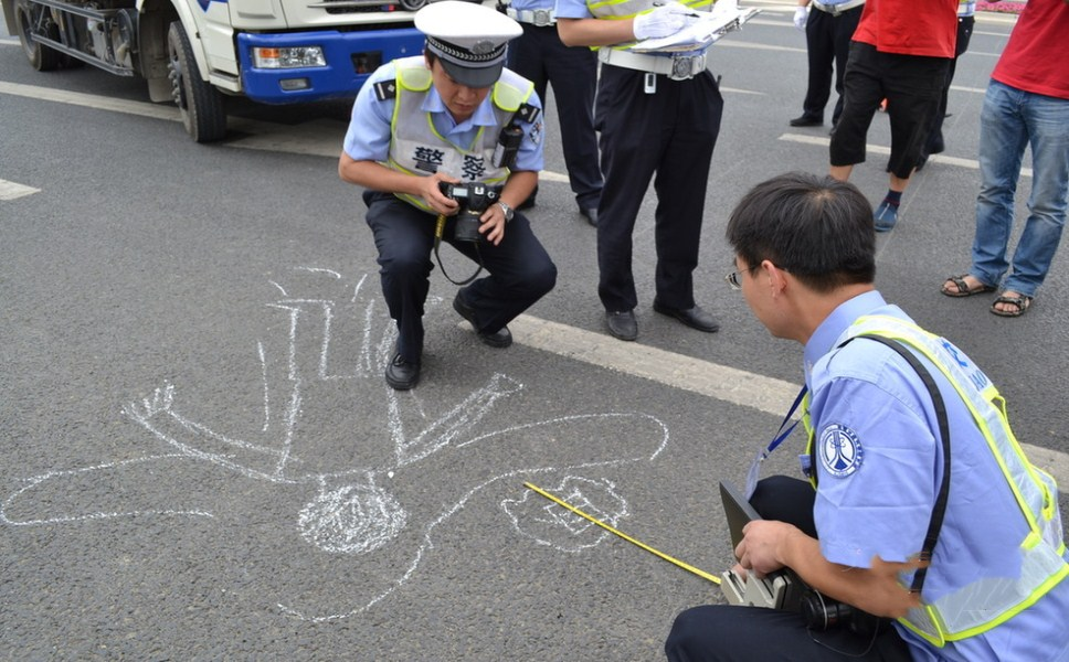 发生交通事故,如何保护现场