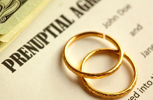 配偶能在婚前协议中安排遗产继承吗?