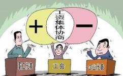 工资集体协商合同范本...