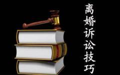 离婚诉讼请求应该怎么提