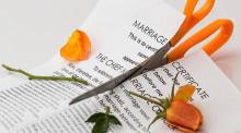 没有财产离婚协议书怎么写