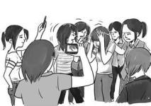 永新一初中女生被围殴,校园暴力频发引深思