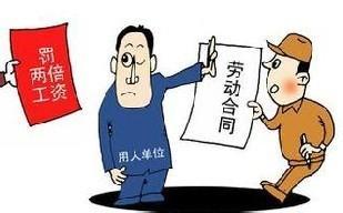 劳动者拒签合同,用人单位要给双倍工资吗?