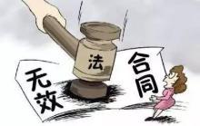 合同无效的五种情形包括哪些,合同无效的法律后果