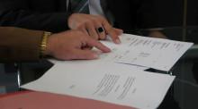 夫妻财产分配协议书