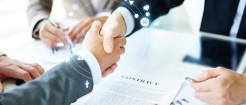 公司合并可以不签新合同吗...
